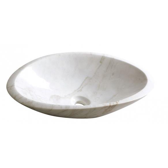 kivist valamu tööpinnale Blok, poleeritud valge marmor