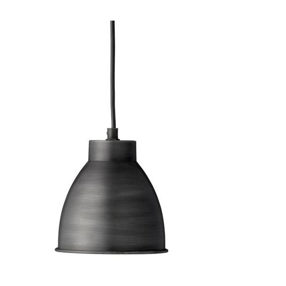 Hanging lamp w/black shade