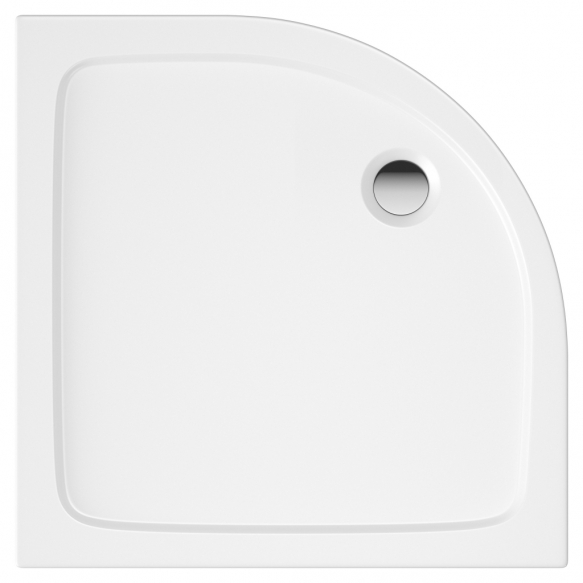 100x100 quadrant stone shower tray, incl front panel, feet and waste S0029+ 1711C+S0043(KQ4)