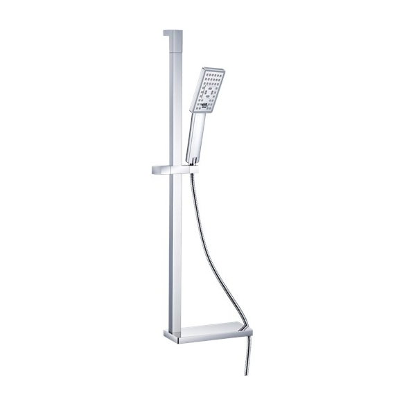 stainless steel shower set Creavit, square