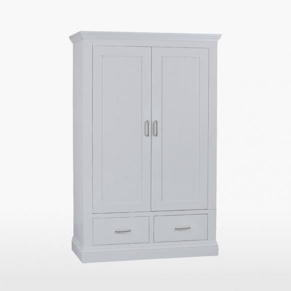 2 ukse ja 2 sahtliga riidekapp