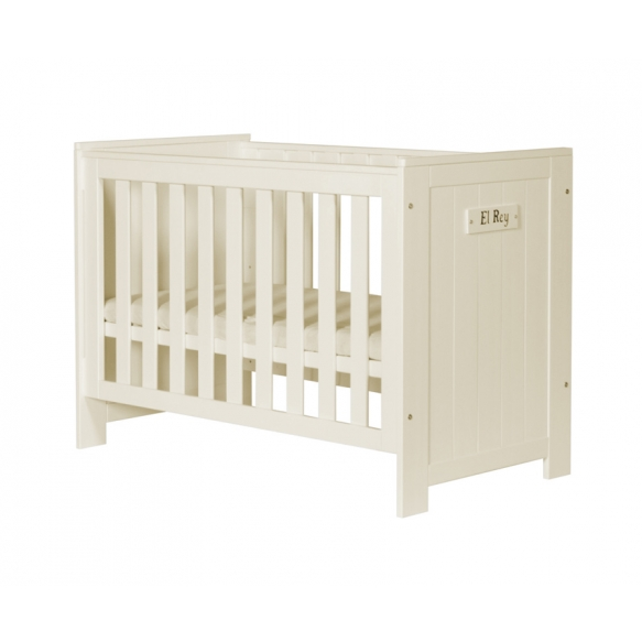 Barcelona - cot 120x60, beige, drawer not included