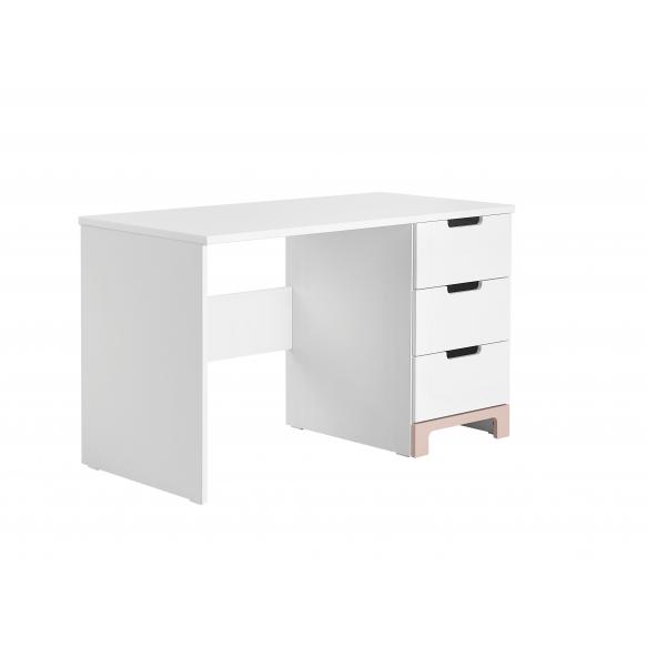 Mini – desk, white+pink