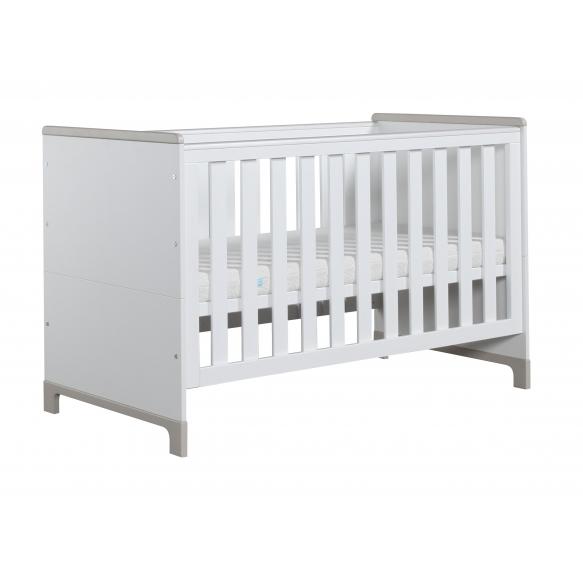 beebivoodi-voodi Mini, 140x70, valge+hall
