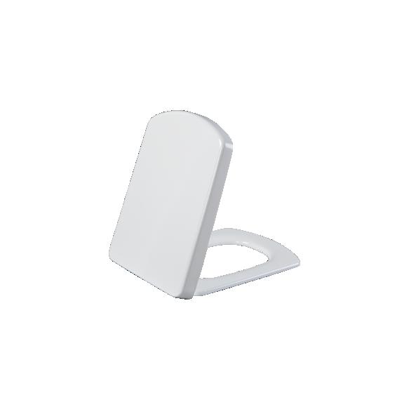 WING SOFT CLOSING CLOSET COVER WHITE