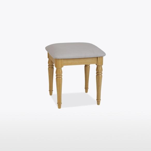 Bedroom stool (leather)