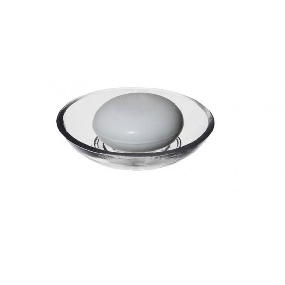 10 cm klaasist seebialus, käsitsi valmistatud Indias