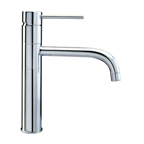 Single-lever kitchen/art basin mixer with swivel spout