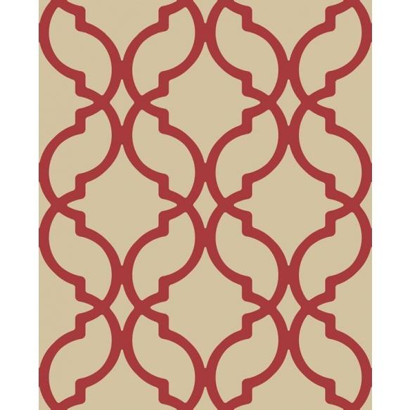 Decadence Moroccan Trellis Red
