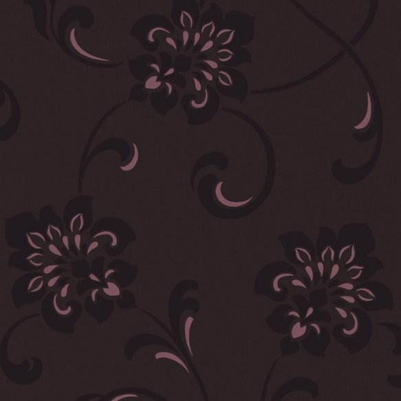 Decadence Jacobean Floral Purple