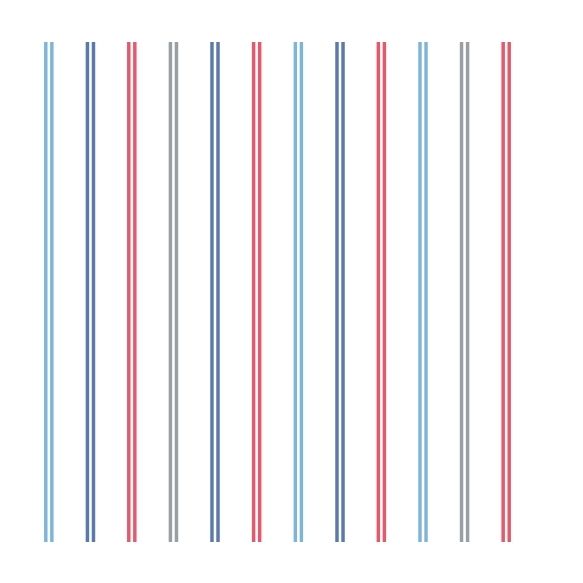 Hoopla Multi Stripe SidewallBlue