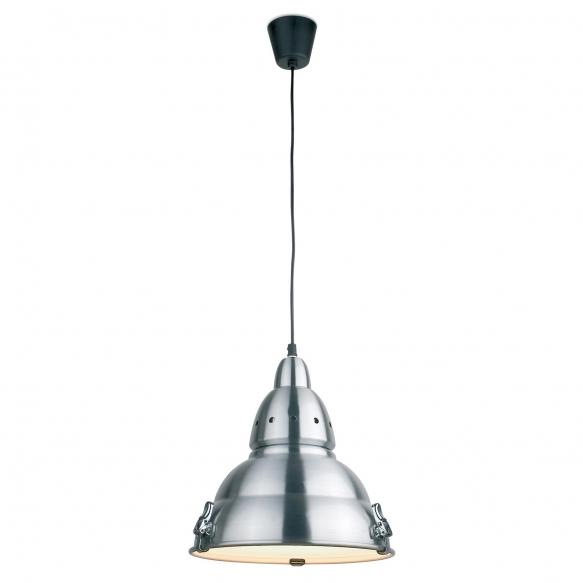 ALUMINIUM PENDANT LAMP 1L E27 60W