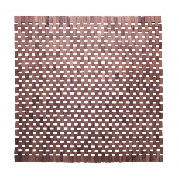 ROSEBLOCK bathmat, brown,  60x60cm