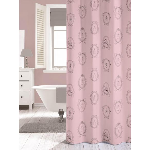 Dušikardin NEW ROMANCE, roosa, tekstiil