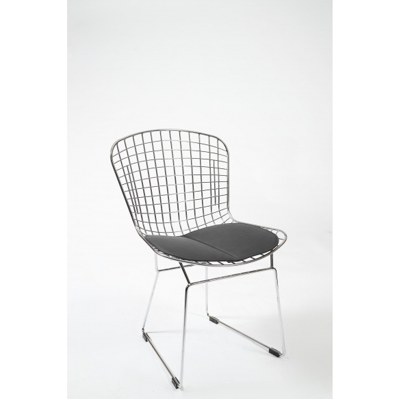 chair,black+chrome