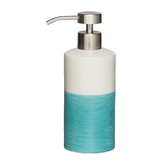 sinine vedelseebidosaator DOPPIO, käsitsi valmistatud keraamika