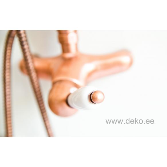 1 lever rain shower mixer NEW OLD,copper