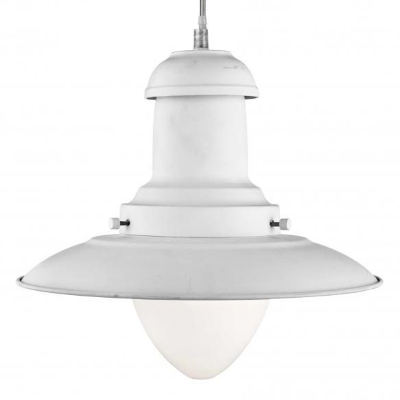 ceiling lamp Fisherman, white,E27 1X60W