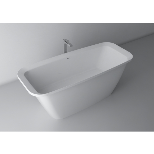 Alexis XL,170x70,white,with built-in overflow