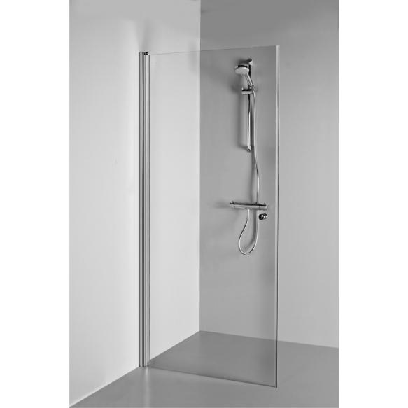 Shower screen LAUREN , clear glass,foldable