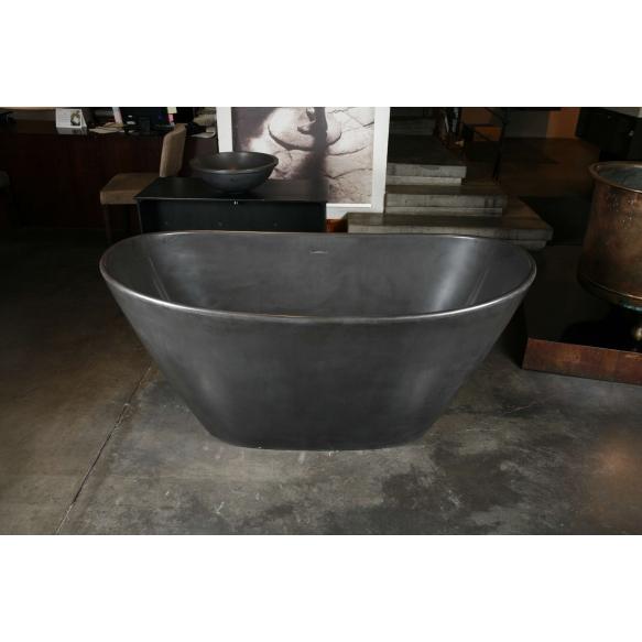 Silkstone bath AMORE, graphite silkstone