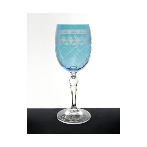 Wine glass Largo Bondone, blue 250ml