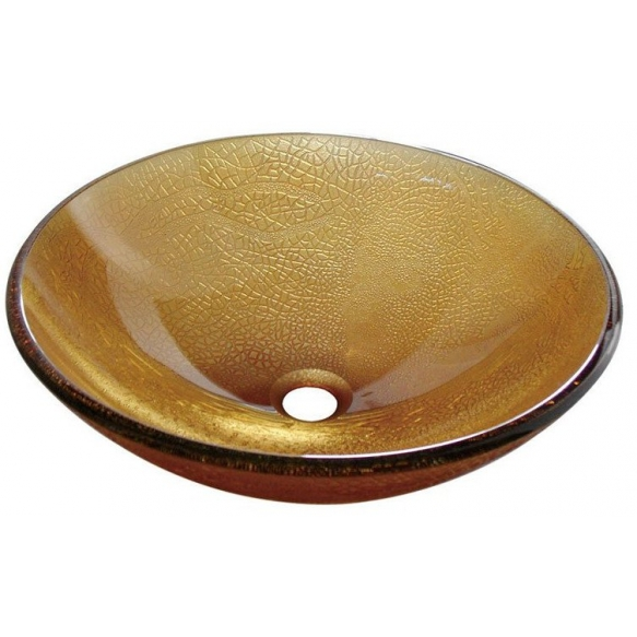 SUN glass washbasin diameter 42cm
