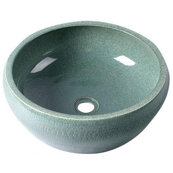 PRIORI ceramic basin diameter 42cm, ceramic, mint color