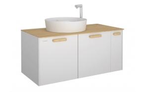 Elata 100 cm Washbasin Module + basin UL145
