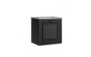 Kayra Basin Cabinet 60 cm, anthracite + basin SU060