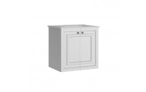 Kayra Basin Cabinet 60 cm, white + basin SU060