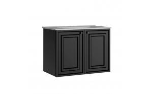 Kayra Basin Cabinet 80 cm, anthracite + basin SU080