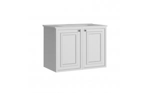 Kayra Basin Cabinet 80 cm, white + basin SU080