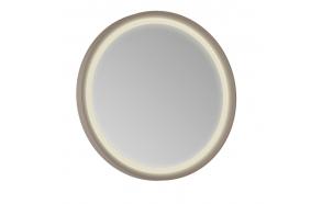 Patara Led Mirror 85 cm, cappuccino