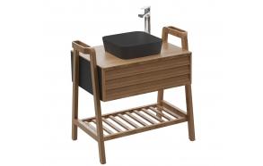 Truva Basin Cabinet 80 cm + basin UL040-00AM00E-0000