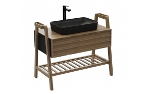 Truva Basin Cabinet 100 cm + basin UL060-00SM00E-0000