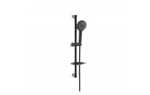 3-function sliding shower set Creavit, matt black