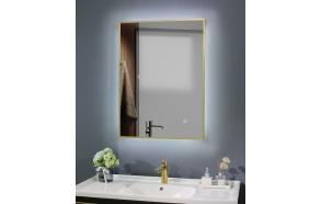 LED peegel Cherry 60x80 cm, matt kuld, pööratav