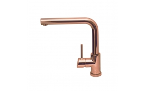 kitchen Mixer Alveus Fluid, copper