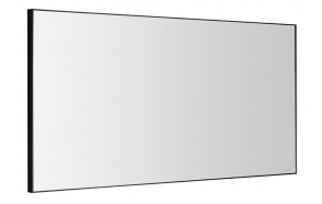 AROWANA frame mirror 1200x600mm, black