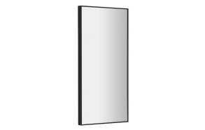 AROWANA frame mirror 900x350mm, black
