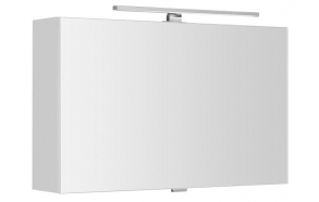 CHLOE mirror cabinet incl. LED light, 80x50x18cm, white