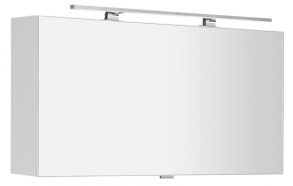CHLOE mirror cabinet incl. LED light, 100x50x18cm, white