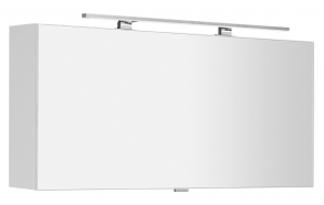 CHLOE mirror cabinet incl. LED light, 120x50x18cm, white