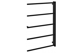 SLICE towel holder, 520x790mm, black mat
