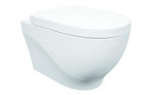 rimless seina wc Mare, valge, ilma istmeta