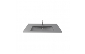 furniture basin Suvi 45x100 cm, mat anthracite