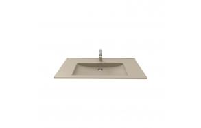 furniture basin Suvi 45x100 cm, mat cappucino
