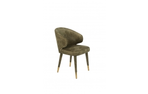 Chair Lunar Velvet Moss FR