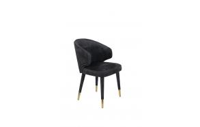 Chair Lunar Velvet Anthracite FR